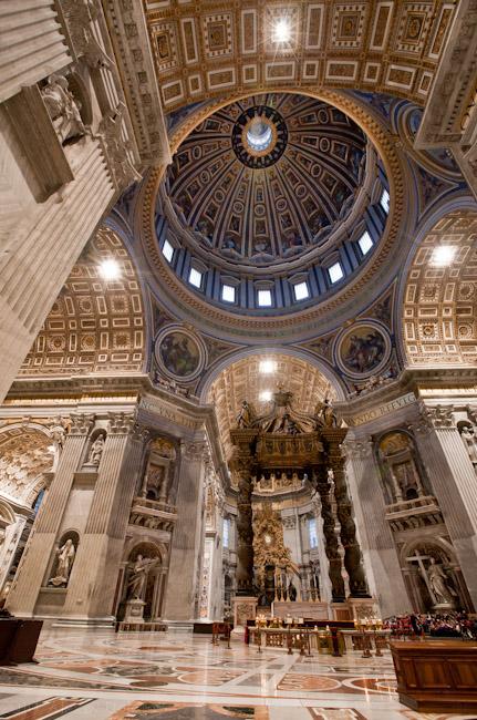 Собор святого петра рим ватикан вид